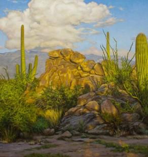 August Evening, 24×48 ($5900, Sanders Gallery)
