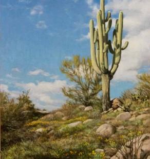 Old Timer, 24×18 ($2800, Sanders Gallery)