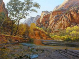 Zion's Gold, 30x40, $480